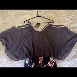 New Beautiful charcoal dress,